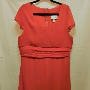 Red Plus Size 3X Formal Dress Prom Wedding Vintage